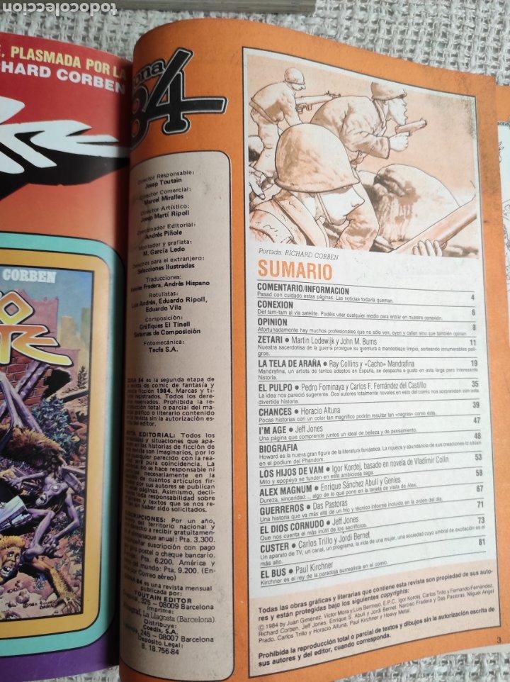 Cómics: TOMO COMICS - CONTIENE ALMANAQUE ZONA 84 PARA 1986 + 1984 Nº 44 + Nº ZONA 84 - Foto 4 - 276003288