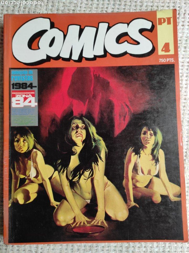 TOMO COMICS - CONTIENE ALMANAQUE ZONA 84 PARA 1986 + 1984 Nº 44 + Nº ZONA 84 (Tebeos y Comics - Toutain - 1984)