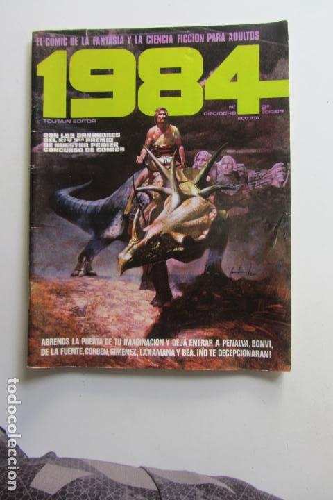 1984 Nº 18 TOUTAIN CORBEN BEA DE LA FUENTE CARLOS GIMENEZ 1980 BUEN ESTADO E2 (Tebeos y Comics - Toutain - 1984)