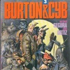 Cómics: BURTON & CYB Nº 3 (SEGURA / ORTIZ) TOUTAIN - IMPECABLE PRECINTADO - SUB02M. Lote 276080768