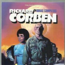 Cómics: RICHARD CORBEN, OBRAS COMPLETAS 1: JEREMY BRODD, 1984, TOUTAIN, MUY BUEN ESTADO. Lote 276082443