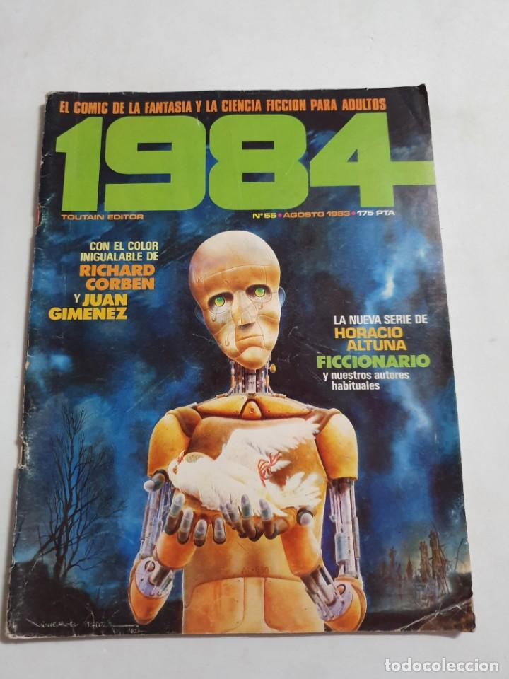 1984 Nº 55 TOUTAIN EDITOR ESTADO NORMAL MAS ARTICULOS (Tebeos y Comics - Toutain - 1984)