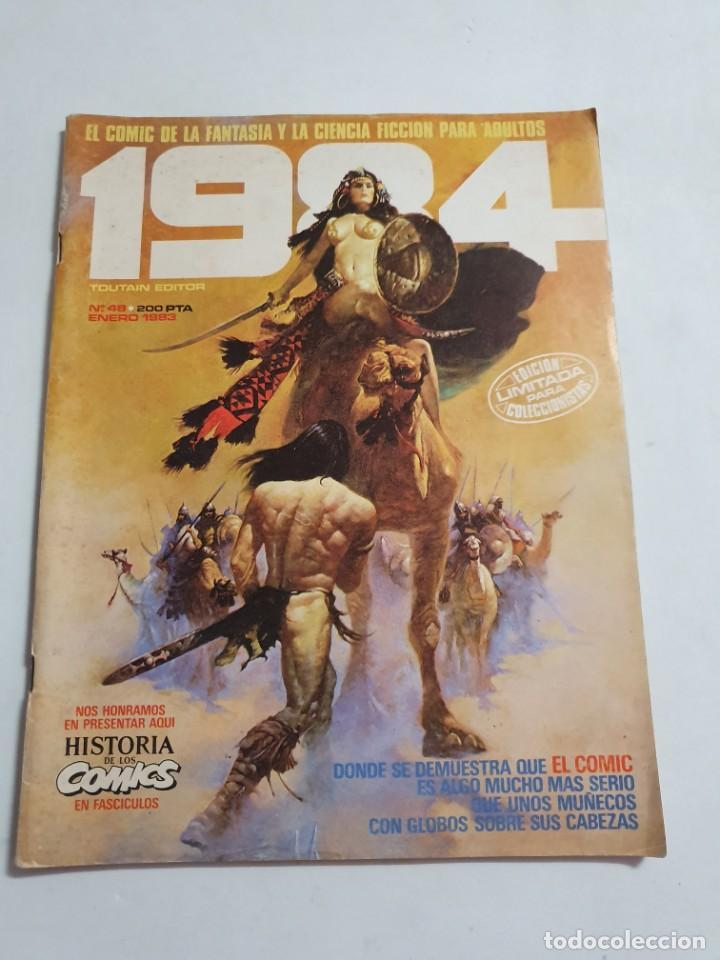 1984 Nº 48 TOUTAIN EDITOR ESTADO NORMAL MAS ARTICULOS (Tebeos y Comics - Toutain - 1984)
