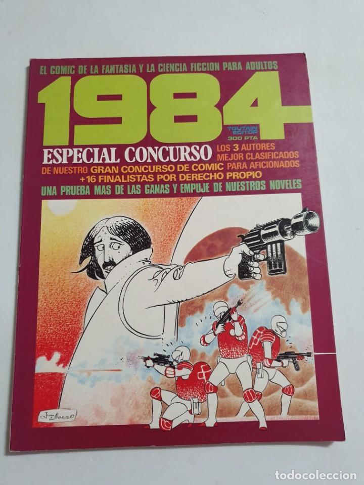 1984 ESPECIAL CONCURSO TOUTAIN EDITOR ESTADO BUENO MAS ARTICULOS (Tebeos y Comics - Toutain - 1984)