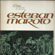 Cómics: CUANDO EL CÓMIC ES ARTE: ESTEBAN MAROTO, 1976, TOUTAIN, BUEN ESTADO. Lote 276459818