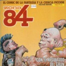 Cómics: ZONA 84 RETAPADO CON LOS NUMEROS 29 A 31 - TOUTAIN - BUEN ESTADO - SUB02M. Lote 276563233