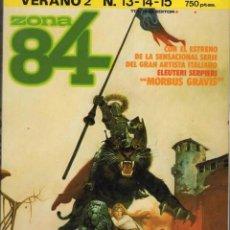 Cómics: ZONA 84 VERANO Nº 2 (RETAPADO CON LOS NUMEROS 13 A 15) TOUTAIN - BUEN ESTADO - SUB02M. Lote 276563663
