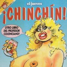 Cómics: ¡CHINCHIN! - PROFESOR COJONCIANO - PENDONES DEL HUMOR Nº 118 - EL JUEVES - MUY BUEN ESTADO - SUB02M. Lote 276564413