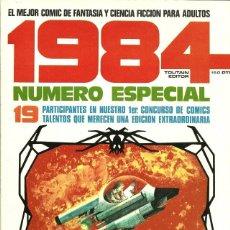 Cómics: 1984 COMIC FANTASIA Y CIENCIA FICCION TOUTAIN NÚMERO ESPECIAL MUY BUEN ESTADO. Lote 276580283