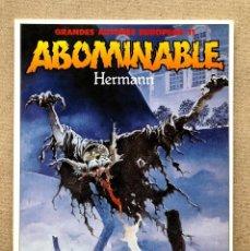 Cómics: ABOMINABLE / HERMANN / GRANDES AUTORES EUROPEOS 11 / TOUTAIN EDITOR /. Lote 276677398
