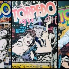Cómics: TORPEDO 1936 (LOTE DE 3 TOMOS). Lote 276743608