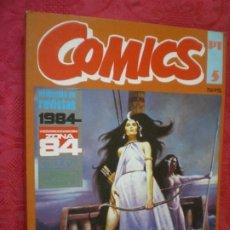Cómics: COMICS. RETAPADO 3 CREEPY: ALMANAQUE 1981 + NÚMEROS 4 Y 5. TOUTAIN EDITOR.. Lote 277156613
