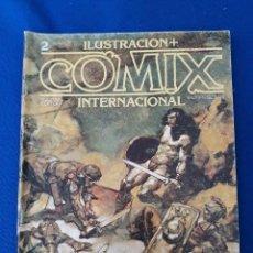 Cómics: ILUSTRACIÓN + COMIX INTERNACIONAL Nº 2. Lote 248579500