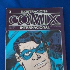 Cómics: ILUSTRACIÓN + COMIX INTERNACIONAL Nº 3. Lote 277232313