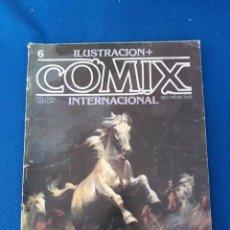 Cómics: ILUSTRACIÓN + COMIX INTERNACIONAL Nº 6. Lote 277232618