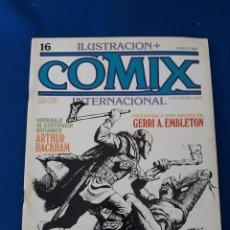 Comics: ILUSTRACIÓN + COMIX INTERNACIONAL Nº 16. Lote 277232733