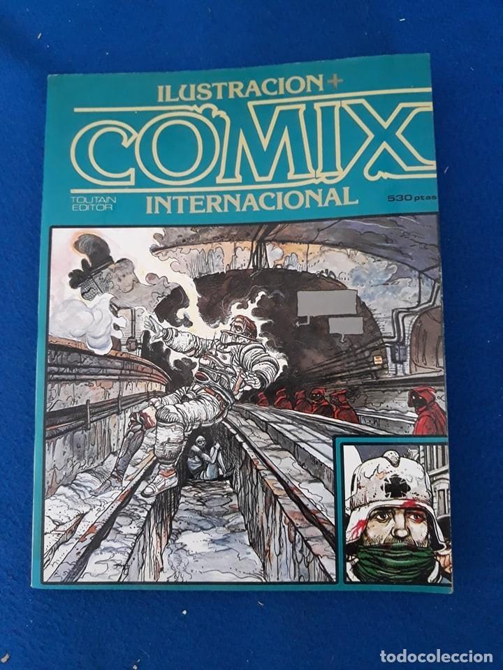 ILUSTRACIÓN + COMIX INTERNACIONAL EXTRA 1 - RETAPADO CON LOS Nº 4-5-7 (Tebeos y Comics - Toutain - Comix Internacional)