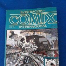 Cómics: ILUSTRACIÓN + COMIX INTERNACIONAL EXTRA 1 - RETAPADO CON LOS Nº 4-5-7. Lote 277233398