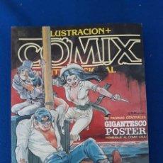 Cómics: ILUSTRACIÓN + COMIX INTERNACIONAL EXTRA 2 - RETAPADO CON LOS Nº 8-9-10. Lote 277233643