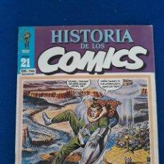 Cómics: HISTORIA DE LOS CÓMICS FASCÍCULO 21. Lote 277501783