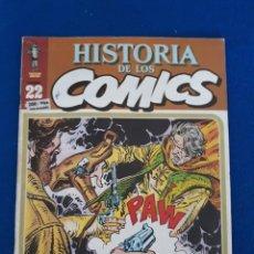 Cómics: HISTORIA DE LOS CÓMICS FASCÍCULO 22. Lote 277501953