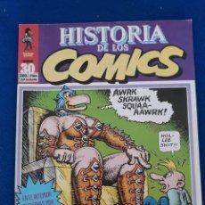 Cómics: HISTORIA DE LOS CÓMICS FASCÍCULO 30. Lote 277502768