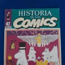 Cómics: HISTORIA DE LOS CÓMICS FASCÍCULO 47. Lote 277503063