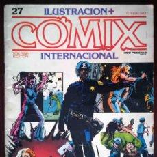 Cómics: ILUSTRACION + COMIX INTERNACIONAL Nº 27 - TOUTAIN EDITOR. Lote 277544628