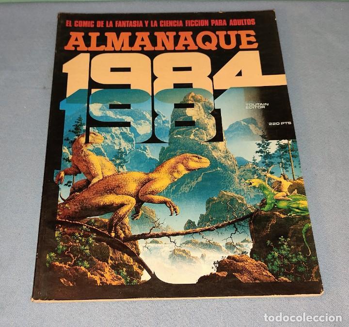 VOLUMEN 1984 ALMANAQUE 1981 TOUTAIN EDITOR EN MUY BUEN ESTADO (Tebeos y Comics - Toutain - 1984)
