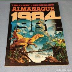 Cómics: VOLUMEN 1984 ALMANAQUE 1981 TOUTAIN EDITOR EN MUY BUEN ESTADO. Lote 277683228