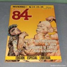 Cómics: VOLUMEN ZONA 84 INVIERNO 1 Nº 24-25-26 DE TOUTAIN EDITOR EN MUY BUEN ESTADO. Lote 277685023