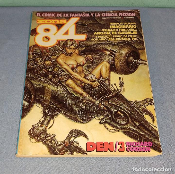 VOLUMEN ZONA 84 Nº 59-60-61 DE TOUTAIN EDITOR EN BUEN ESTADO (Tebeos y Comics - Toutain - Zona 84)