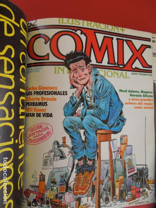 Cómics: COMIX INTERNACIONAL Nº 16 EXTRA -Nº51,52 Y 53 ILUSTRACION TOUTAIN EDITOR AÑOS 80 - Foto 2 - 278178413