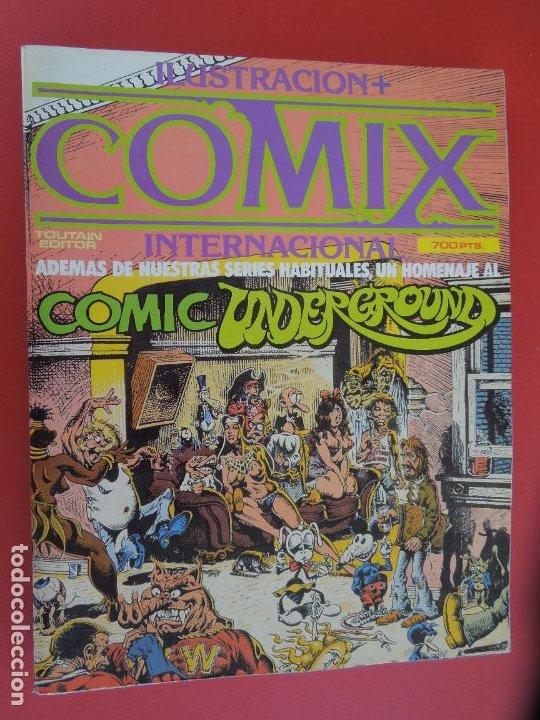 COMIX INTERNACIONAL Nº 16 EXTRA -Nº51,52 Y 53 ILUSTRACION TOUTAIN EDITOR AÑOS 80 (Tebeos y Comics - Toutain - Comix Internacional)