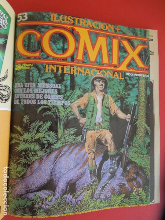 Cómics: COMIX INTERNACIONAL Nº 16 EXTRA -Nº51,52 Y 53 ILUSTRACION TOUTAIN EDITOR AÑOS 80 - Foto 3 - 278178413
