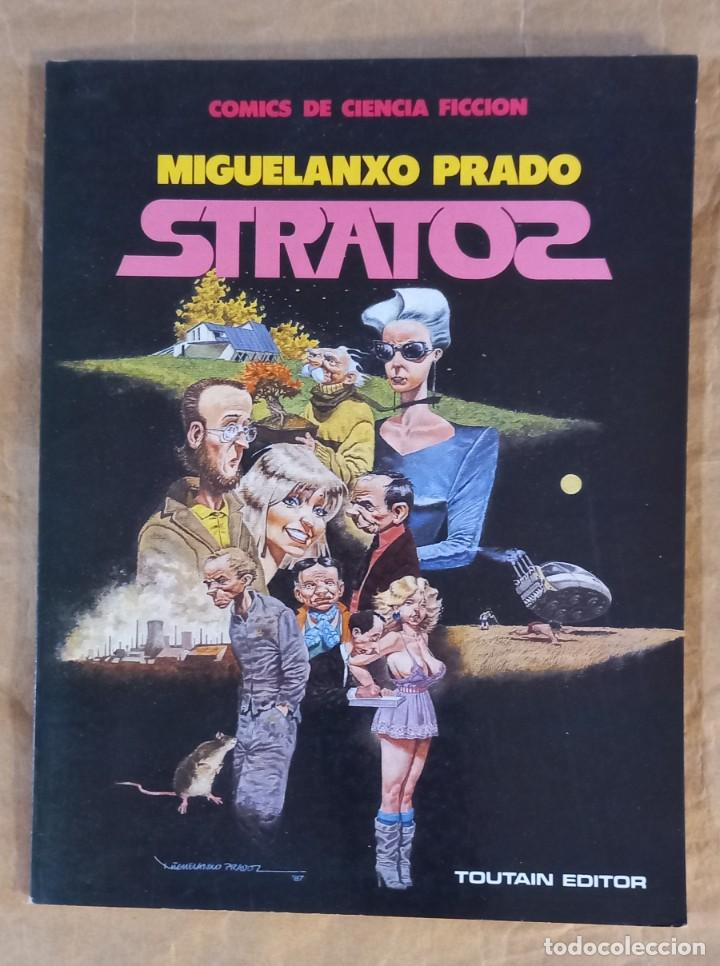 STRATOS - TOUTAIN / NÚMERO ÚNICO - MIGUELANXO PRADO (Tebeos y Comics - Toutain - Álbumes)