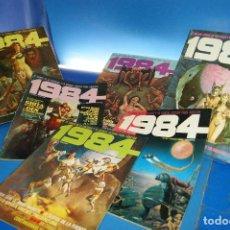 Cómics: REVISTA 1984. TOUTAIN EDITOR. 6 NÚMEROS: 8, 12, 31, 34, 41 Y 42. AÑOS 80.. Lote 278183383