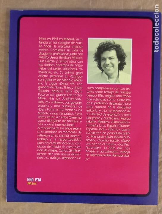 Cómics: ROMANCES DE ANDAR POR CASA (GRANDES AUTORES EUROPEOS / NÚMERO 3) - TOUTAIN (CARLOS GIMÉNEZ) - Foto 2 - 278183898