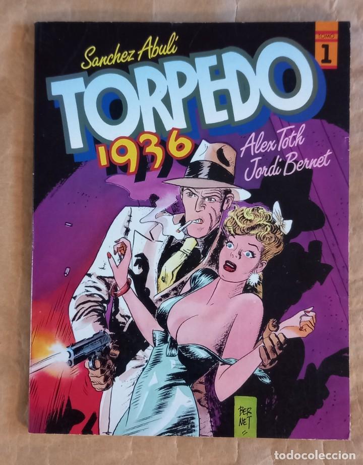 TORPEDO 1936 - TOUTAIN / NÚMERO 1 (JORDI BERNET) 1ª EDICIÓN (Tebeos y Comics - Toutain - Álbumes)