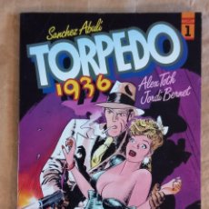 Cómics: TORPEDO 1936 - TOUTAIN / NÚMERO 1 (JORDI BERNET) 1ª EDICIÓN. Lote 278189533