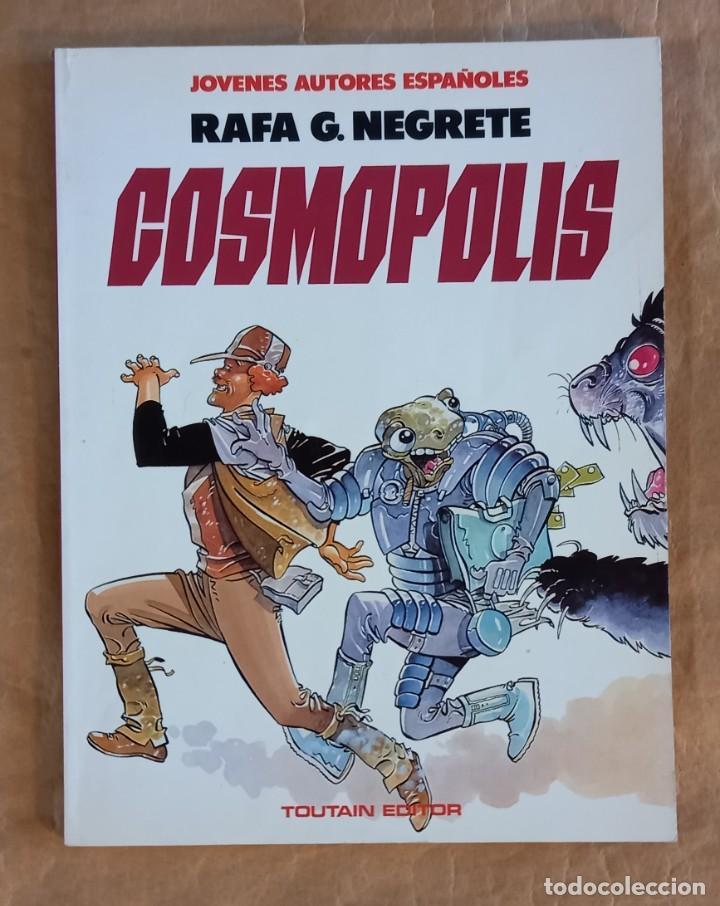 COSMÓPOLIS (JÓVENES AUTORES ESPAÑOLES / NÚMERO 3) - TOUTAIN (RAFA G. NEGRETE) (Tebeos y Comics - Toutain - Álbumes)
