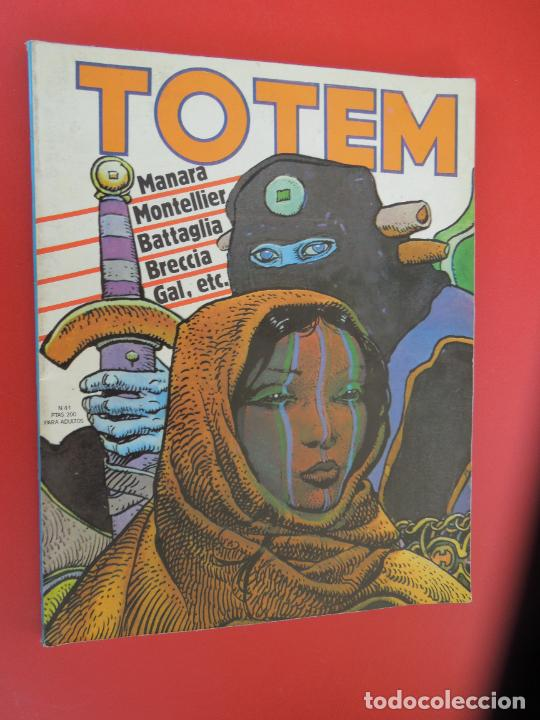 TOTEM Nº 41 COMICS NUEVA FRONTERA -1977 (Tebeos y Comics - Toutain - Otros)