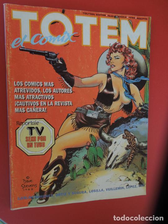 TOTEM EL COMIX Nº 60 -TOUTAIN EDITOR (Tebeos y Comics - Toutain - Otros)