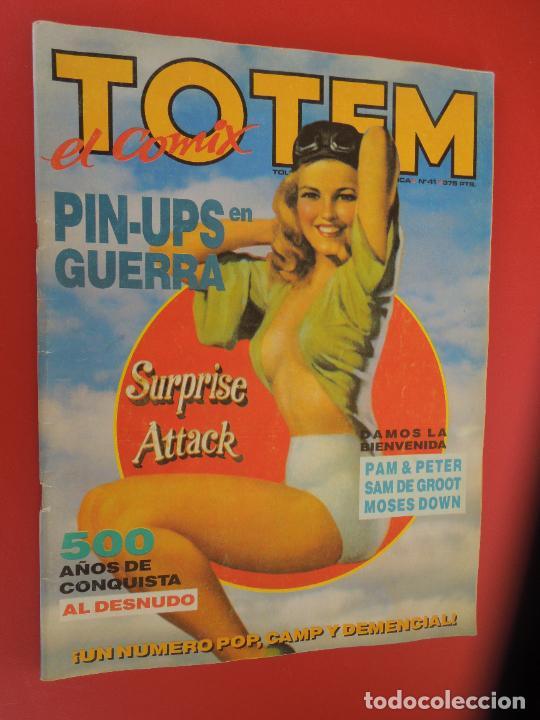 TOTEM EL COMIX Nº 41.1ª EDICIÓN - TOUTAIN - 1990 (Tebeos y Comics - Toutain - Otros)