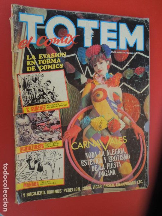 TOTEM EL COMIX Nº 5 - TOUTAIN - 1987 (Tebeos y Comics - Toutain - Otros)