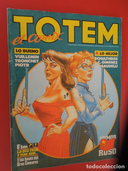 TOTEM EL COMIX Nº 44. - TOUTAIN EDITOR - 1990 (Tebeos y Comics - Toutain - Otros)
