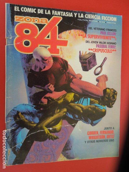 ZONA 84 Nº 52- TOUTAIN EDITOR. (Tebeos y Comics - Toutain - Zona 84)