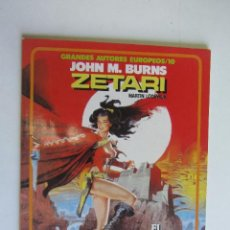 Cómics: GRANDES AUTORES EUROPEOS/10. JOHN M. BURNS. ZETARI. EL DEMONIO ROJO. TOUTAIN. AS03. Lote 278328923