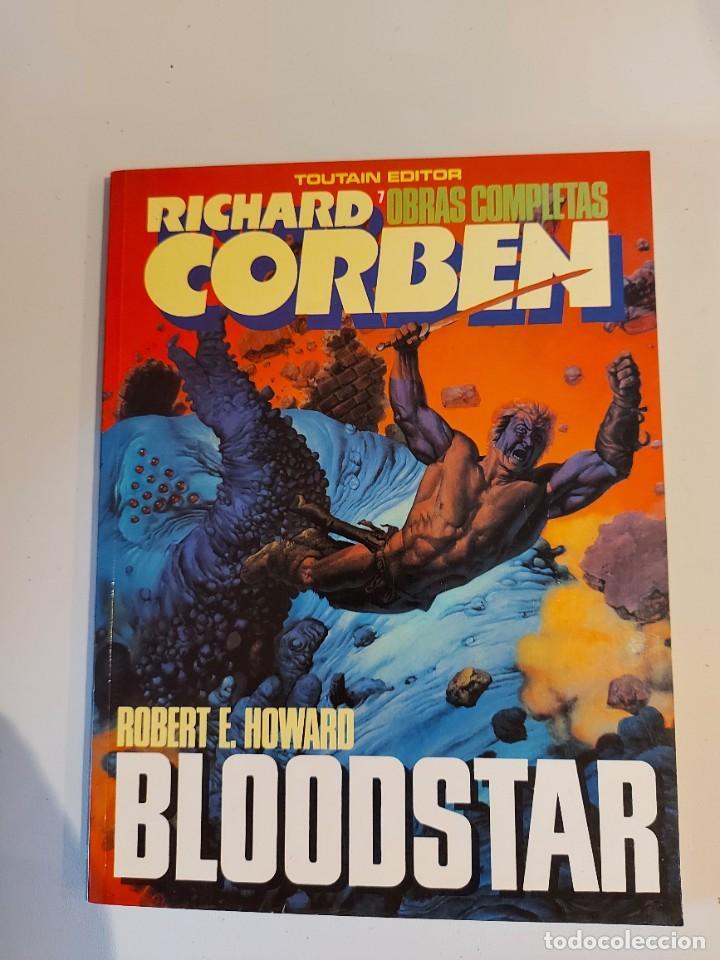 BLOODSTAR RICHARD CORBEN OBRAS COMPLETAS 7 (Tebeos y Comics - Toutain - Obras Completas)