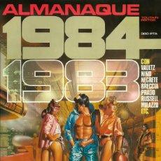 Cómics: COMIC 1984 ALMANAQUE 1983 - TOUTAIN EDITOR - BUEN ESTADO - FANTASIA Y CIENCIA FICCION - AÑO 1982. Lote 278638033
